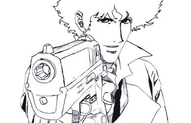 Spike Spiegel by Vagamiz