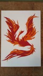 Fire Phoenix by Arcedemius