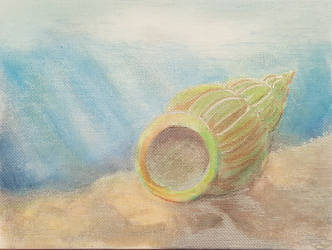 Watercolour seaside by Arcedemius