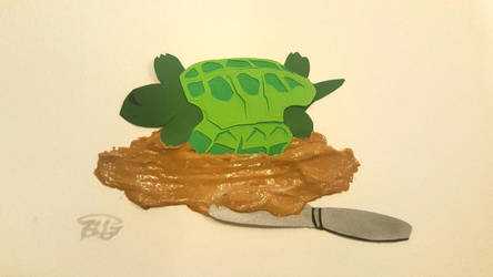 Flailing turtle by Arcedemius