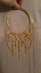 Aluminum necklace by Arcedemius