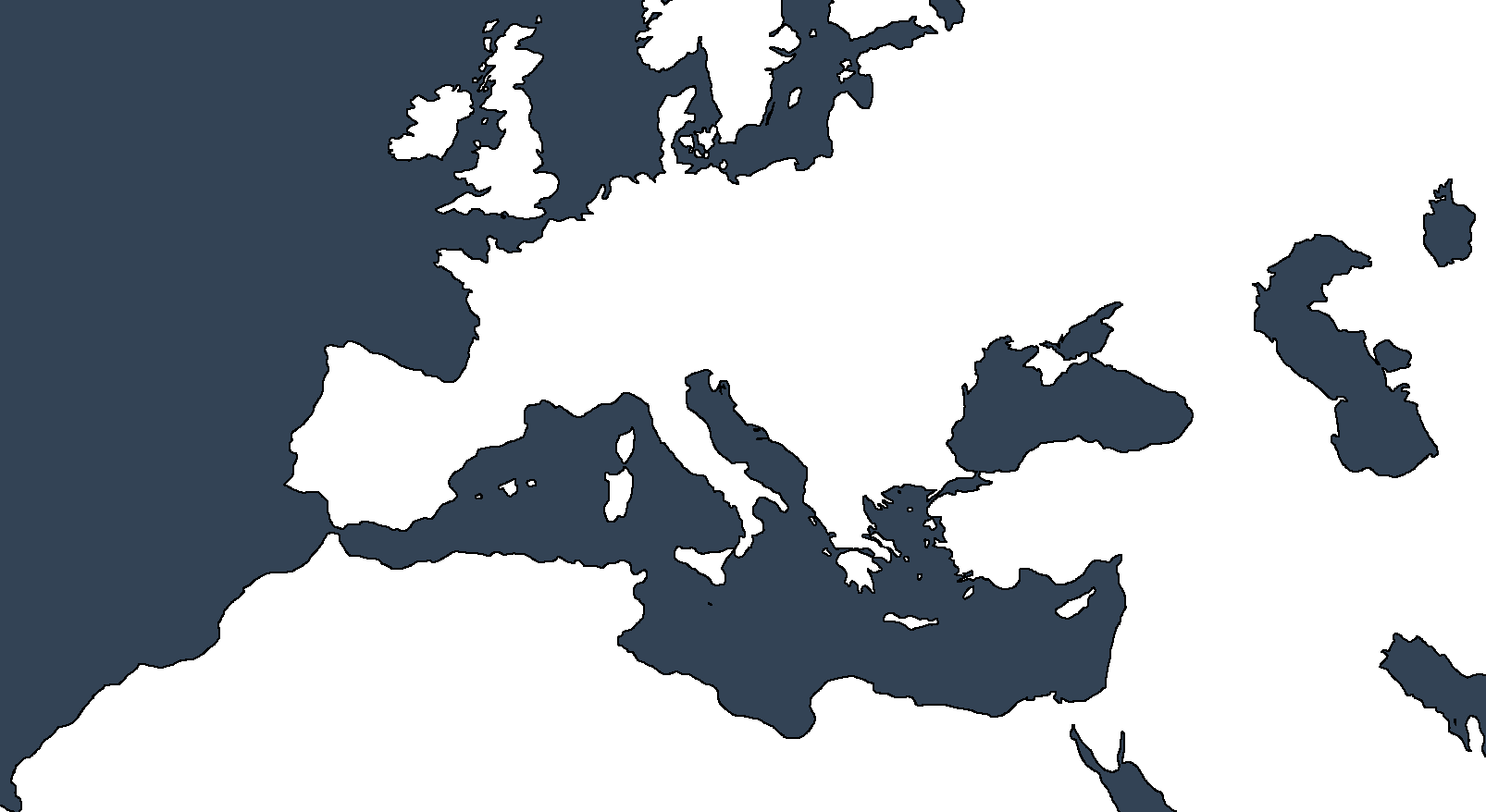 Map of Europe and North Africa by Marauder-M on DeviantArt