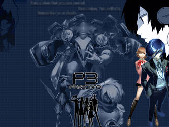 Persona 3 Wallpaper by LyingDutchman