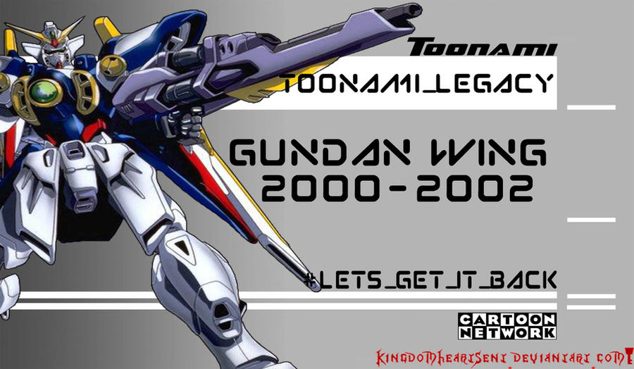 Toonami Legacy: Gundam Wing by KingdomHeartsENT
