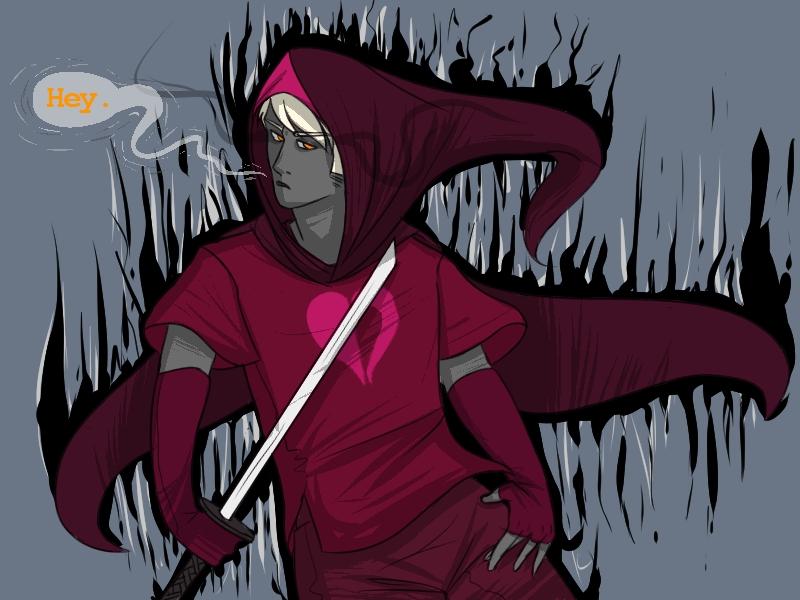 HM- GrimDark!Dirk by o-Kairos-o