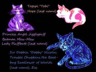 My Cats by heartsyhawk