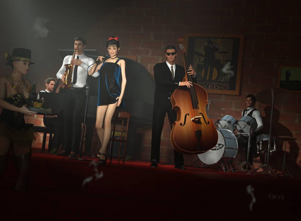 The Jazz Singer by WimVanDeBospoort