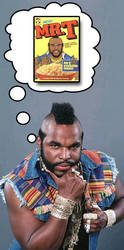 Mr.T likes his cereal by Drewskee