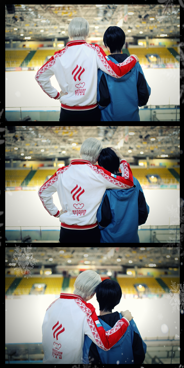 Yuri on Ice! Looking into a gold future! by Hatchikokoono