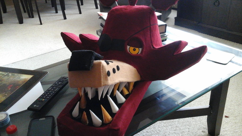 Fnaf Finshed Head Foxy By Metalwolfer On DeviantArt