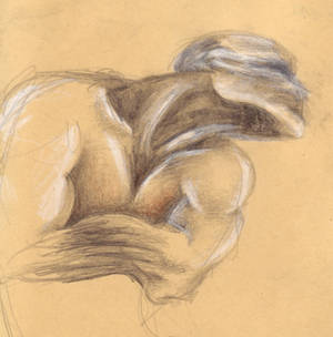 Lying Figure sketch
