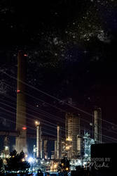 Cyberpunk Skyline