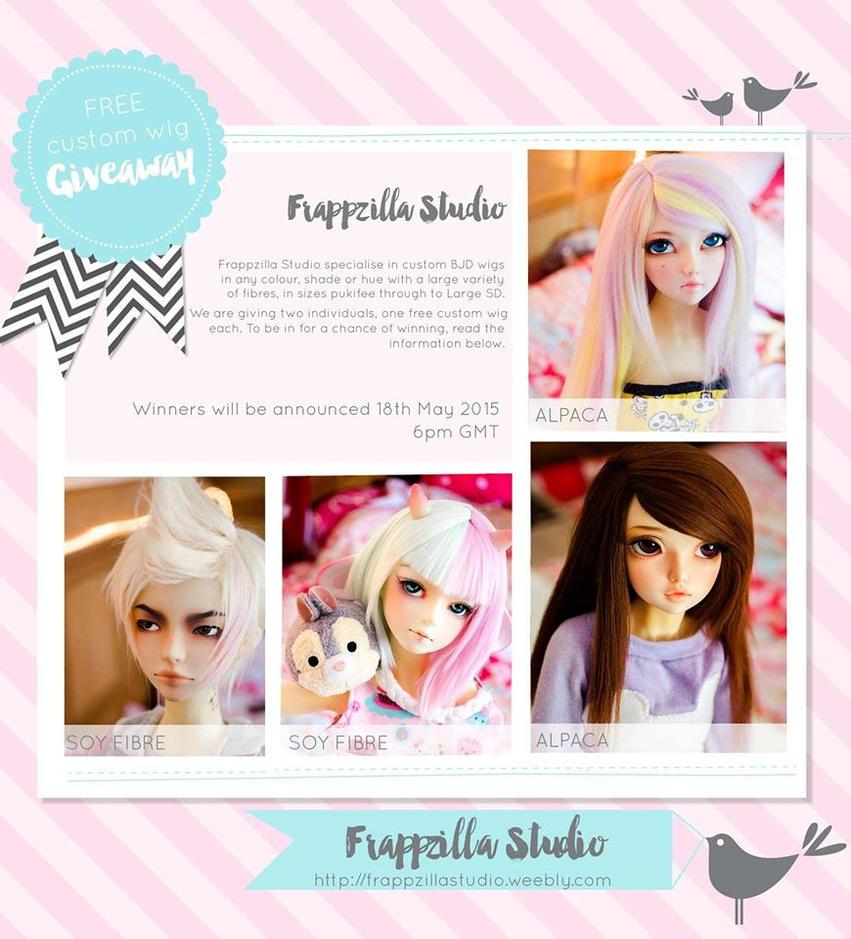 Frappzilla Studio's free custom wig Giveaway! by TheTwistedWonderland