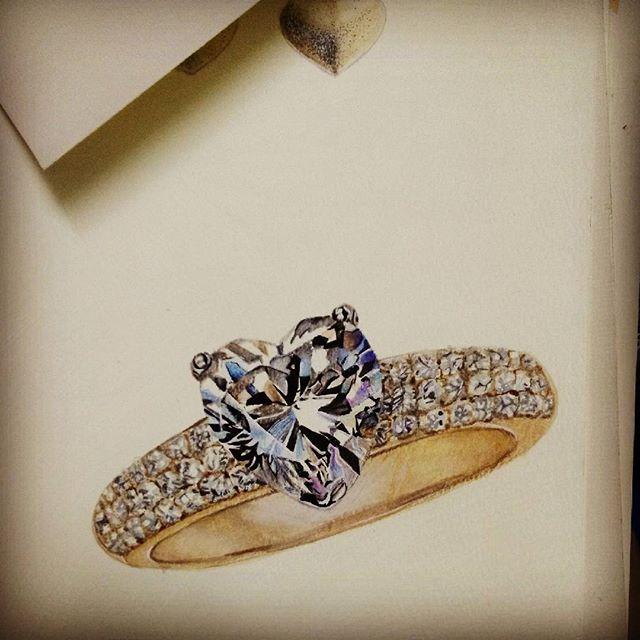 Diamond Heart Ring by cobe-raikyo