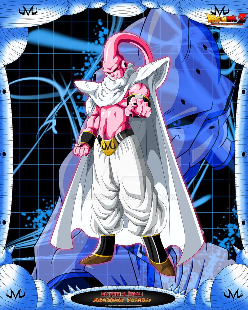 DBCU Super Buu Absorbed Piccolo by cdzdbzGOKU