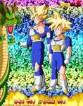 DBCU Goku SSJ and Gohan SSJ