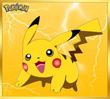 Pokemon Card Pikachu by cdzdbzGOKU