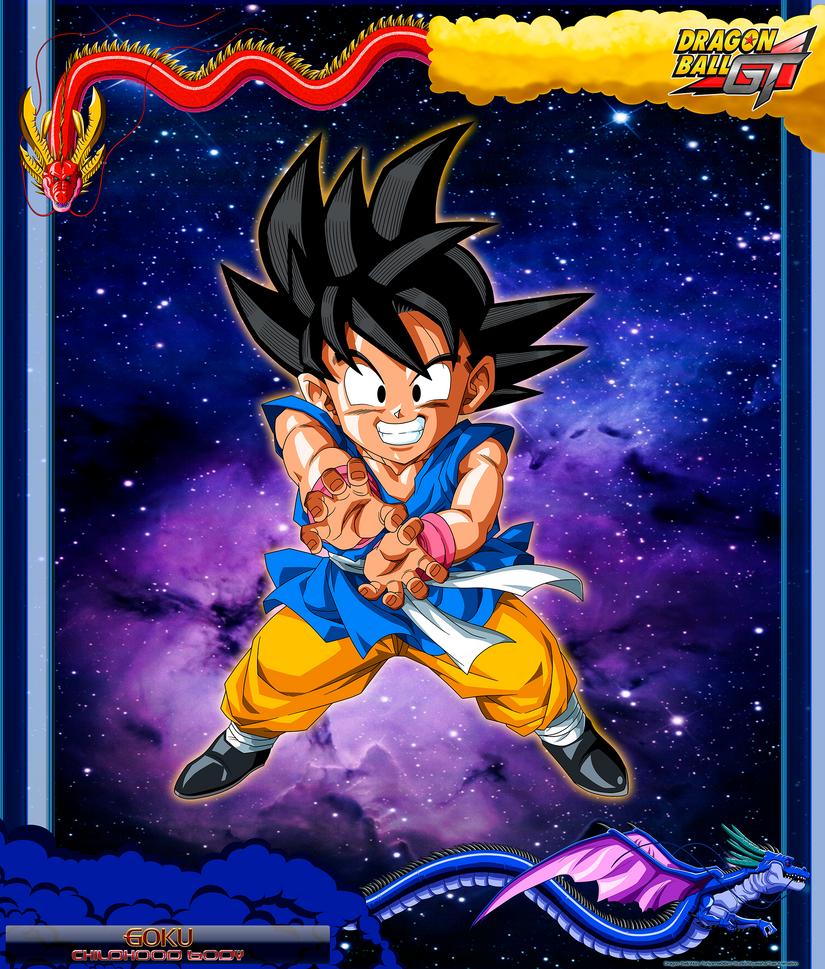 DBCU Goku Childhood Body by cdzdbzGOKU