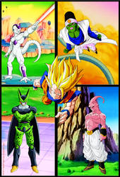 Poster 99 Goku Legend FULL by cdzdbzGOKU