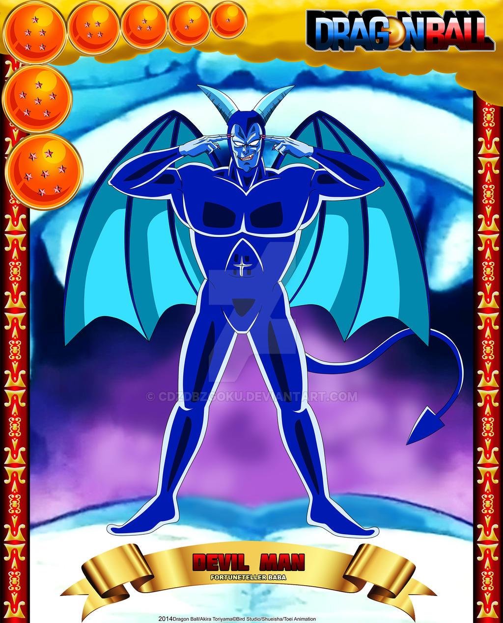 DB Devil Man by cdzdbzGOKU
