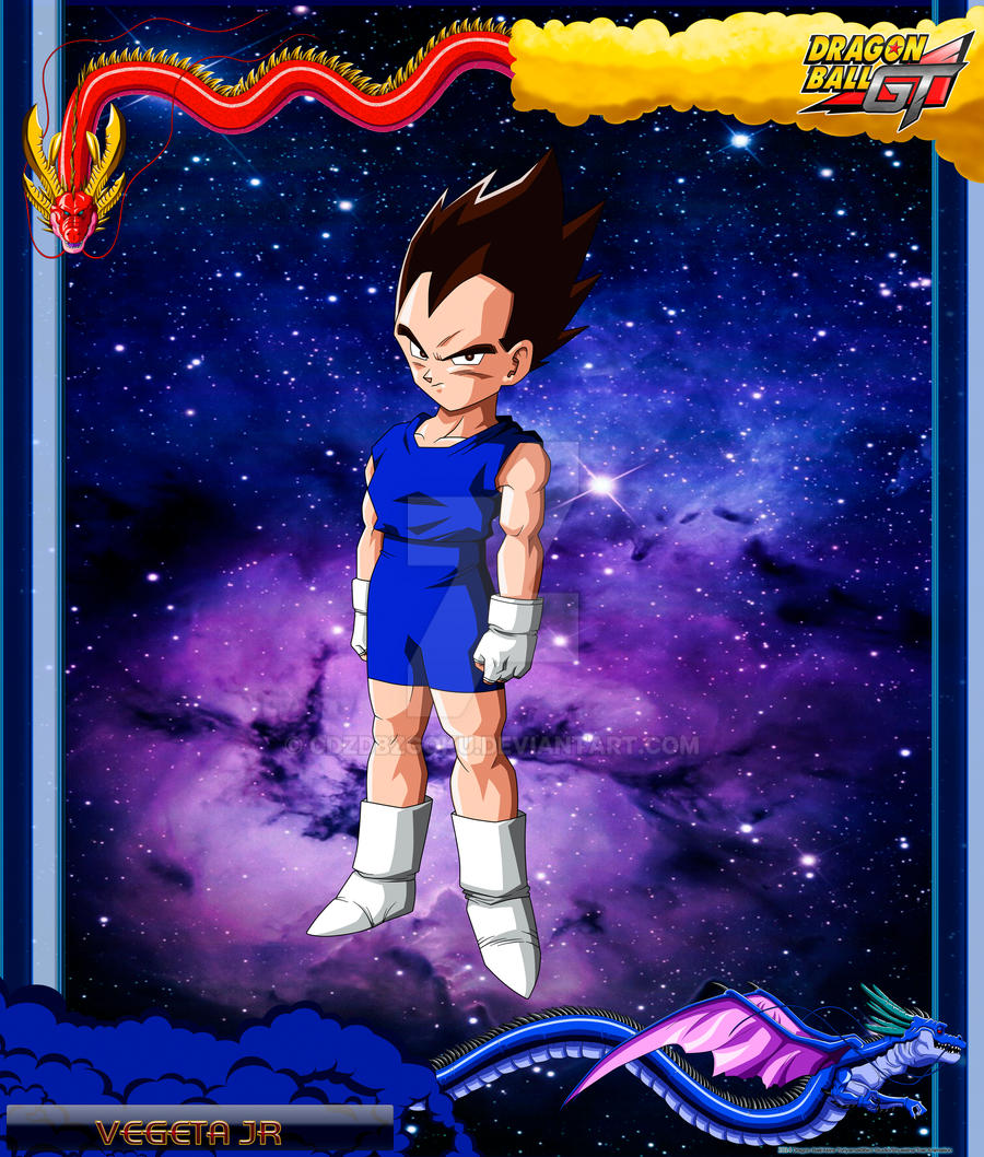 DBGT Vegeta JR by cdzdbzGOKU