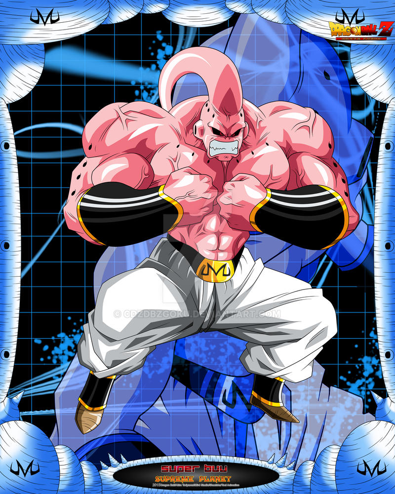DBZ Super Buu 0 by cdzdbzGOKU