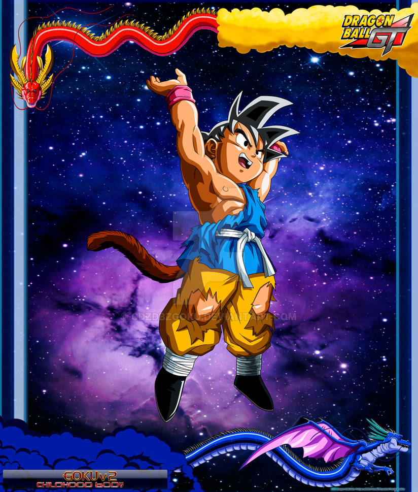 DBGT Goku V2 by cdzdbzGOKU