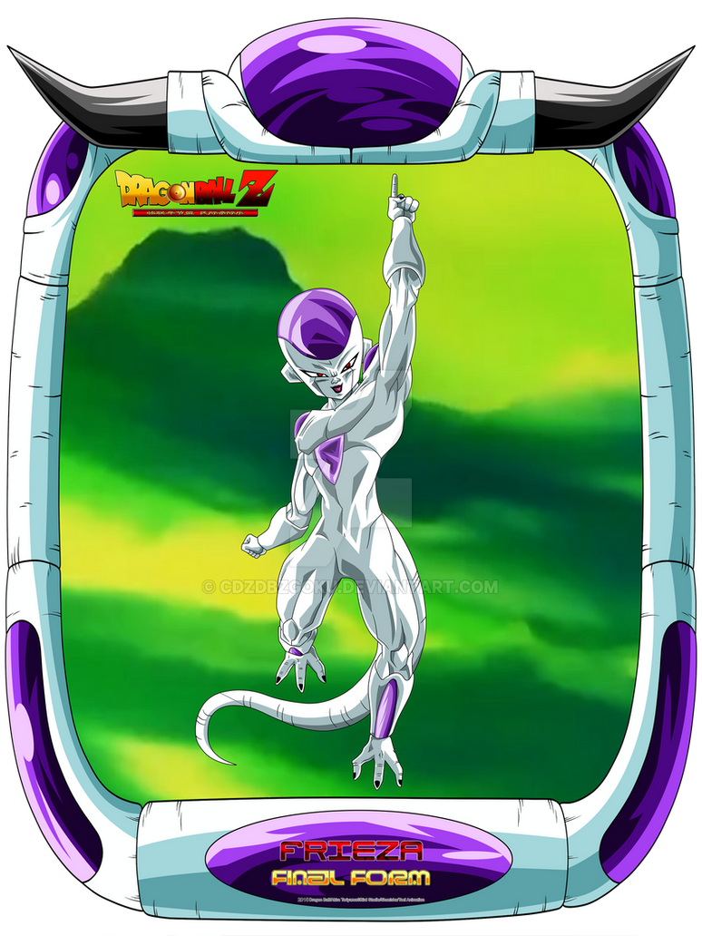 DBZ Frieza 3 V7 by cdzdbzGOKU on DeviantArt