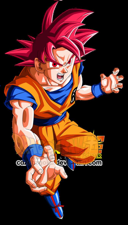 Goku SSG by cdzdbzGOKU