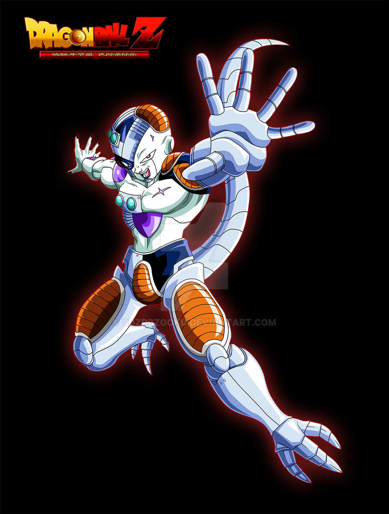 Mecha Frieza By Cdzdbzgoku On Deviantart