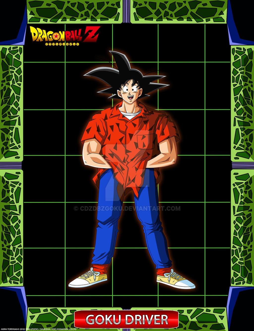 DBZ Goku Driver by cdzdbzGOKU