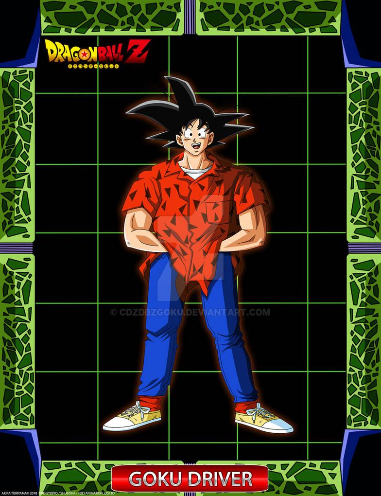 DBZ Goku Driver