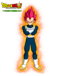 Vegeta God Red Film DBS Broly