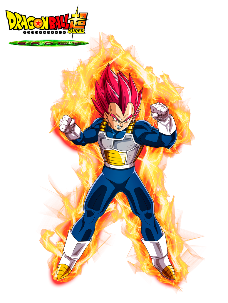 Vegeta God Red Film DBS Broly V2