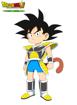 Charadesign de Kid Goku Film DBS Broly