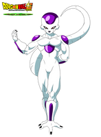 Charadesign de Frieza Film DBS Broly by cdzdbzGOKU