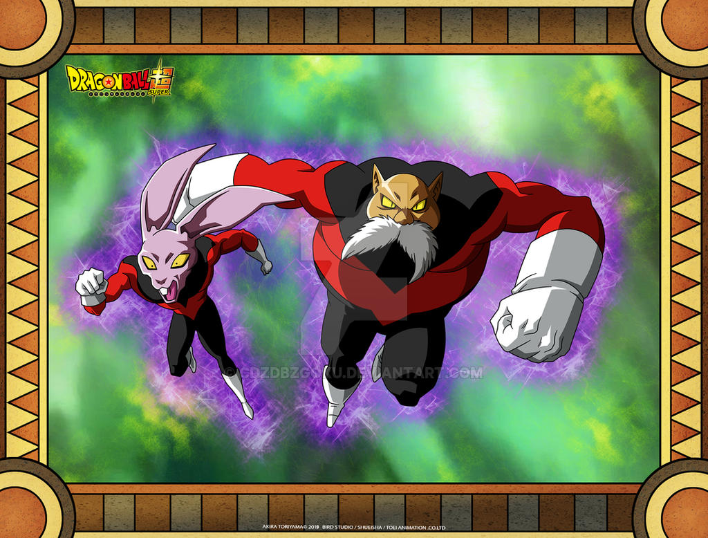 DBS Universe 11 Dyspo And Toppo by cdzdbzGOKU