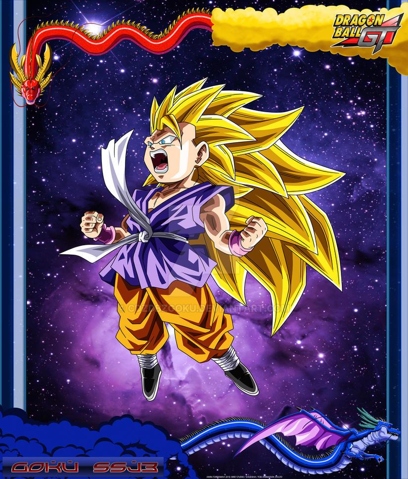 DBGT Goku SSJ3 by cdzdbzGOKU