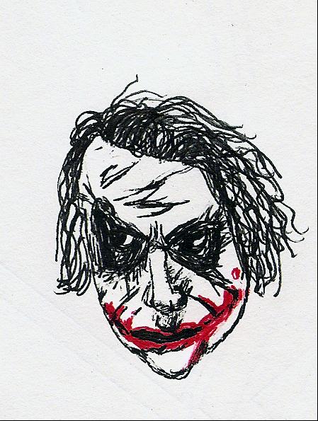 Joker Floating Head of Doom by ResidentofBoxFive