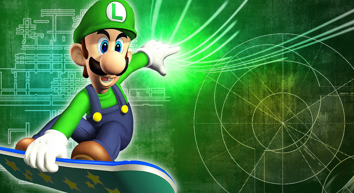 Luigi wallpaper by linkintek06 on deviantart luigi wallpaper by linkintek06 altavistaventures Gallery
