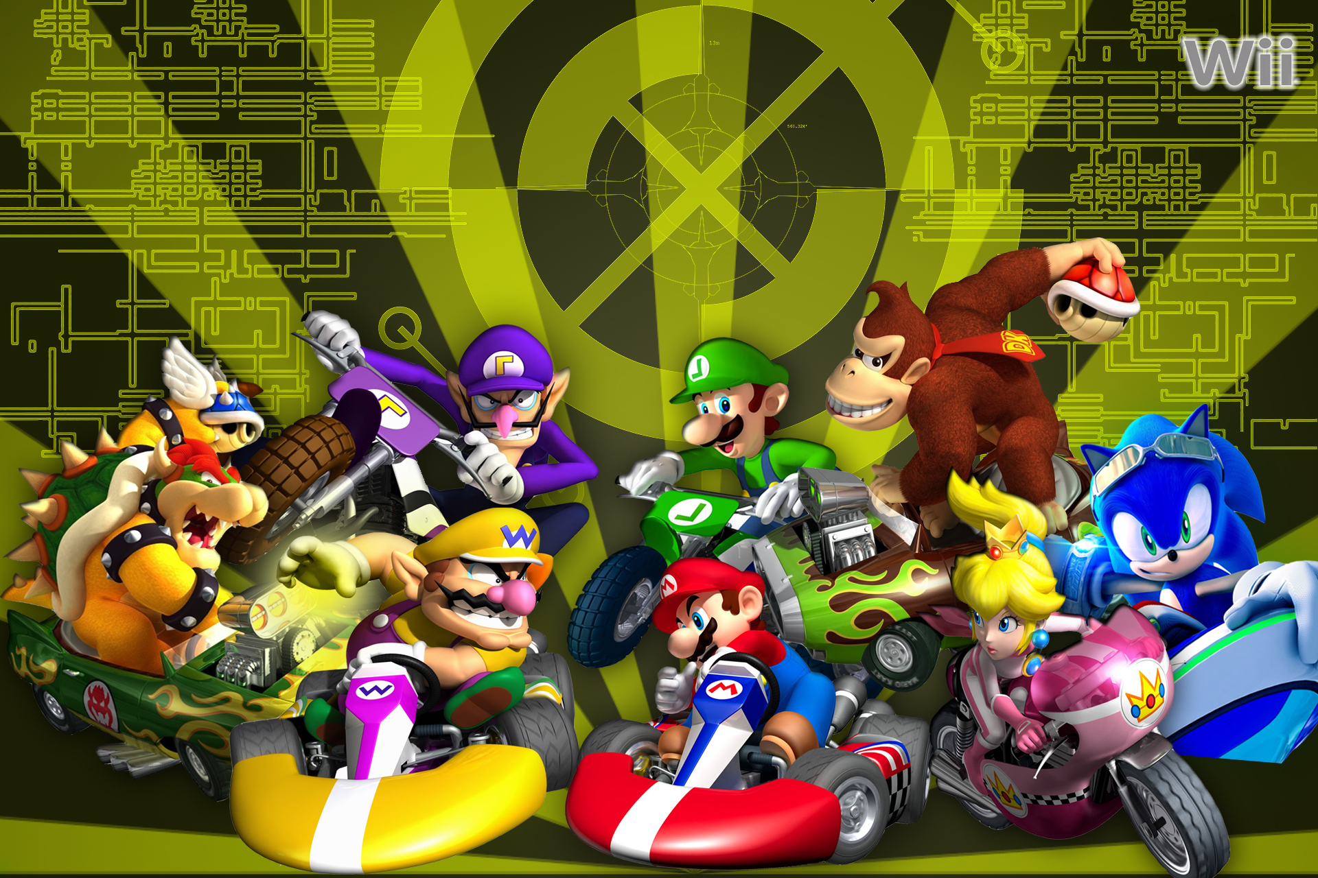 Mario Kart Wii pt. 2 Wallpaper