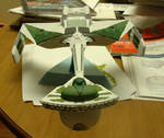 Romulan K'tinga by CreatorofCoolShit