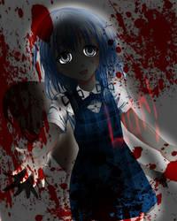 Girl Loli Sanae (Yandere Ver.) by ChiharuOnizuka