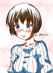 Manami Birthday Quick Sketch by ChiharuOnizuka