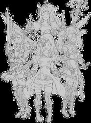 The Four Little Noah of Light by ChiharuOnizuka