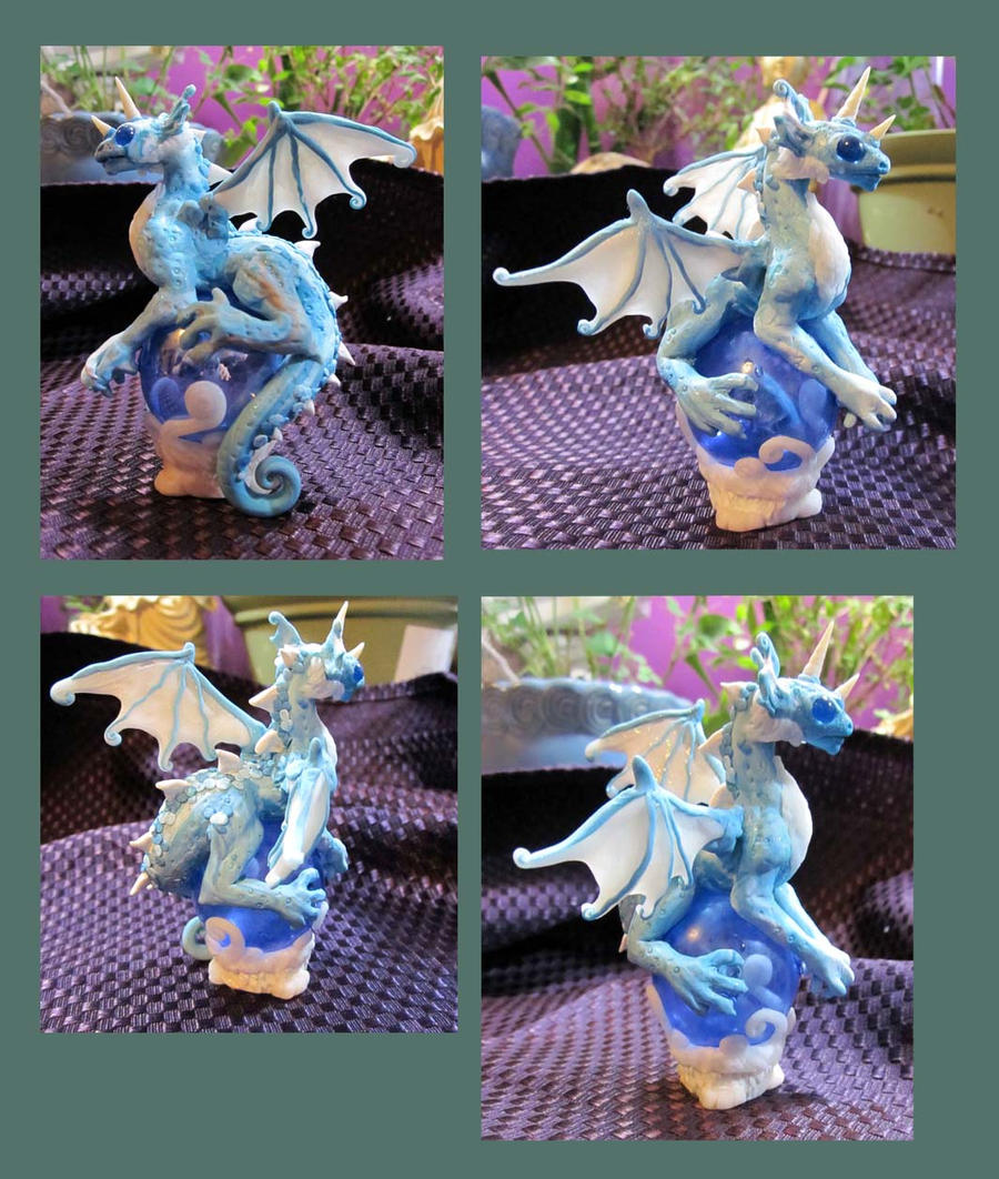 Blue dragon by carmendee