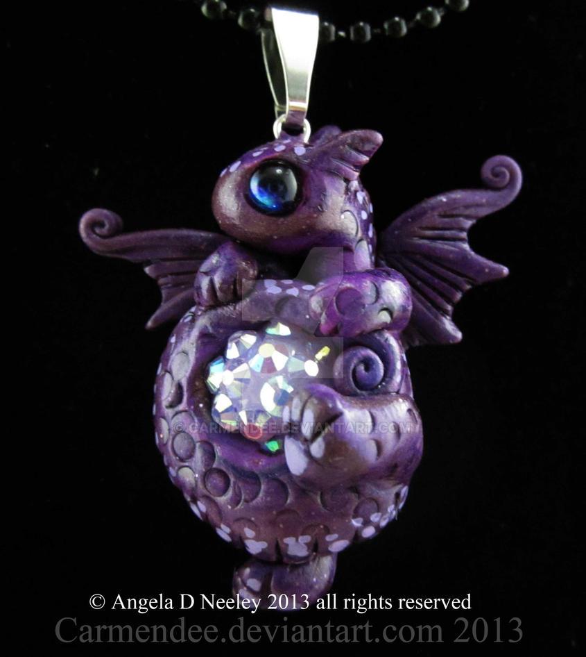 purple cutie by carmendee