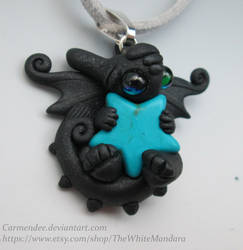 Toothless Turquoises Star Cuddle Necklace