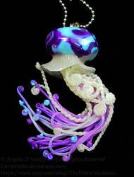 twisted tide jellyfish pendant