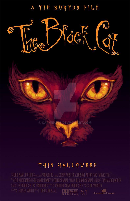 The black cat movie poster